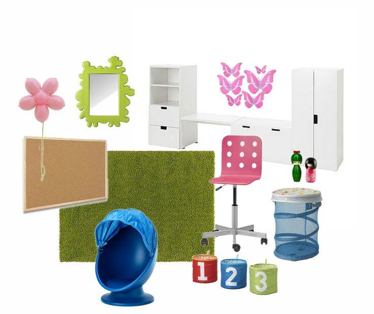 Mood board - Ikea playroom