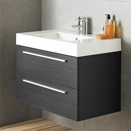 vanity basin units for bathroom. Designer Style Silhouette Basin and Cabinet Wall Hung Grey Bathroom Vanity  Storage Unit 41 best Sink Cabinets Home Improvement Ideas images on