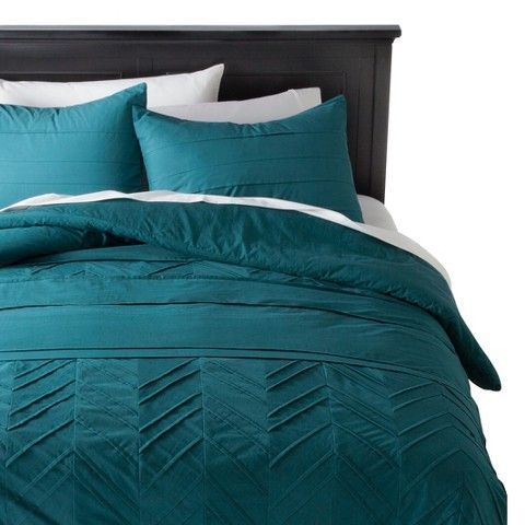 Nate Berkus™ Textured Comforter Set - Teal