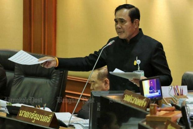 Gen Prayut Chan-o-cha's proposed four questions must have many people stumped. What is he thinking? What's the purpose of posing such questions out of the blue?