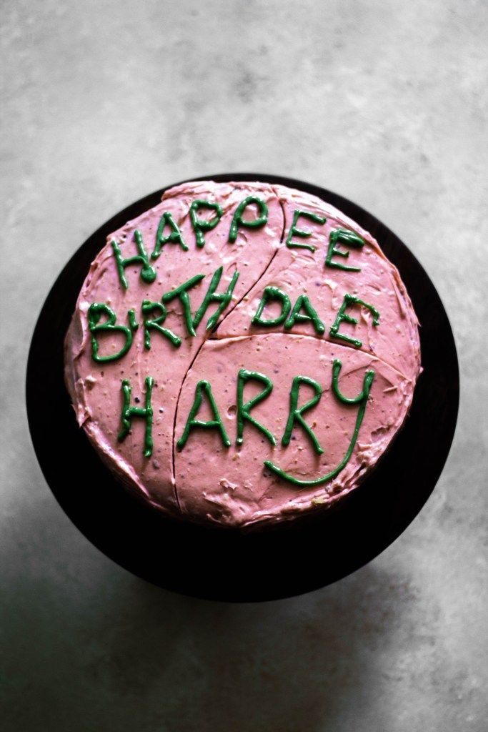 Harry Potter Cake From Hagrid An Easy Delicious Fun Dessert Recipe Harry Potter Cake Harry Potter Birthday Cake Harry Potter Desserts