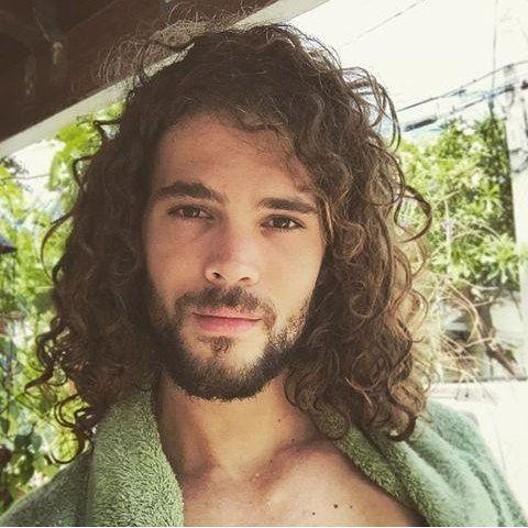 25 trending long curly hair men ideas on pinterest mens