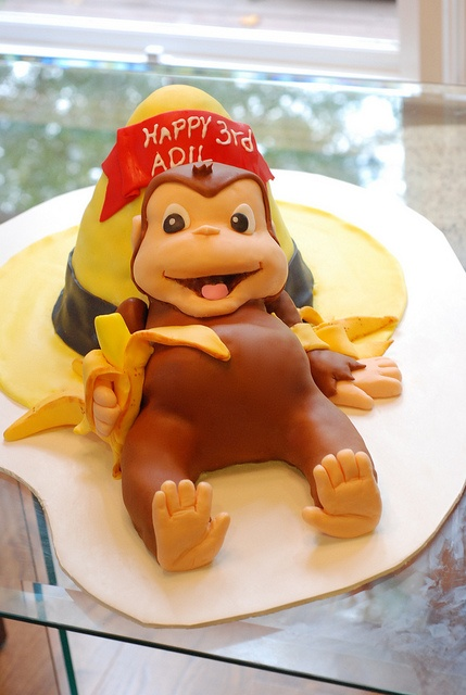 Curious George Cake by CakeFancy,