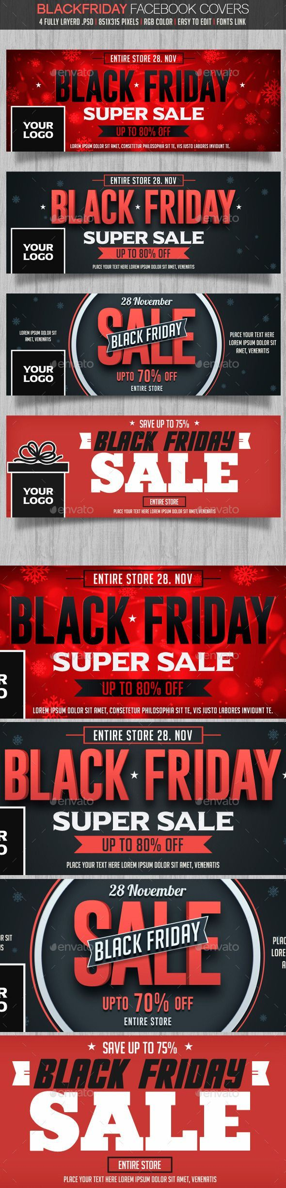 Black Friday Facebook Cover  PSD Template • Download ➝ https://graphicriver.net/item/black-friday-facebook-cover/13571499?ref=pxcr