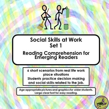 20 best adapted materials for older students images on pinterest using 6 short scenarios from real life work place situations student practice decision making and fandeluxe Gallery