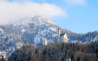 Neuschwanstein Germany Bavaria wallpapers and stock photos