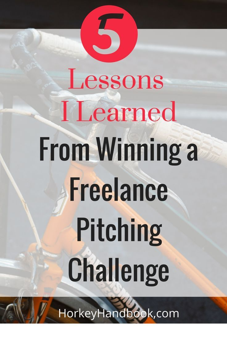 5 Lessons I Learned from Winning a Freelance Pitching Challenge and how cold pitching will boost your business
