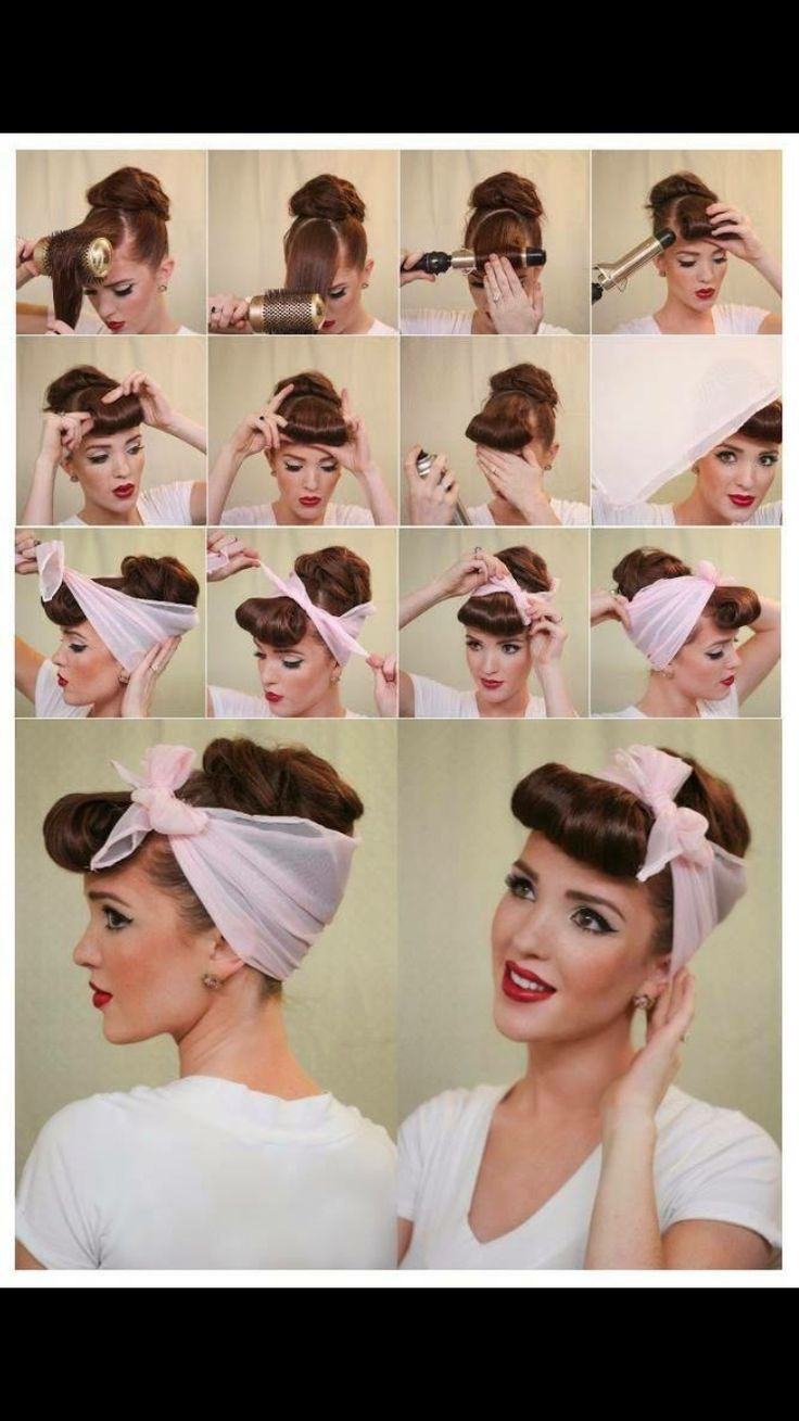 25 best ideas about 50s hair tutorials on pinterest