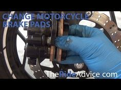 How to Change Your Motorcycle Brake Pads  #howto #change #motorcycle #brakepad #video #tutorial #article #guide #list #tips #info #advice #brake #pads #brakes #diy #mechanic #maintenance #usedmotorcycle #salvagemotorcycles #auction