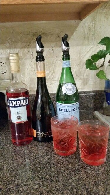nye perfect holiday cocktail recipe the campari mint spritz the happy ...
