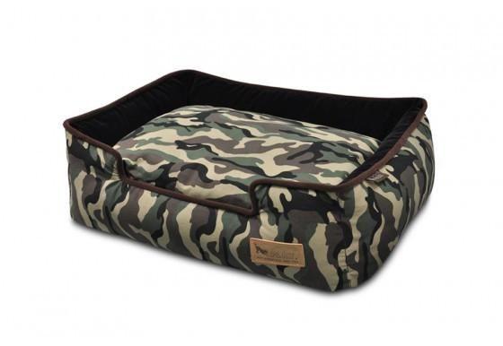 Cama Para Perros Camouflage Lounge Bed Tradicional de Pet P.L.A.Y.