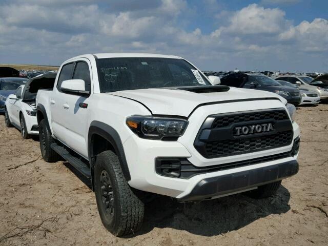 Salvage 2017 Toyota Tacoma Trd Pro