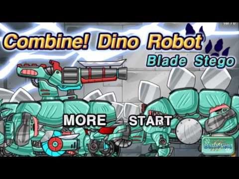 Робот-Динозавр - Джип - Носорог. Мультики про динозавров-роботов для детей
