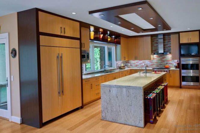 Дизайн потолка гипсокартон