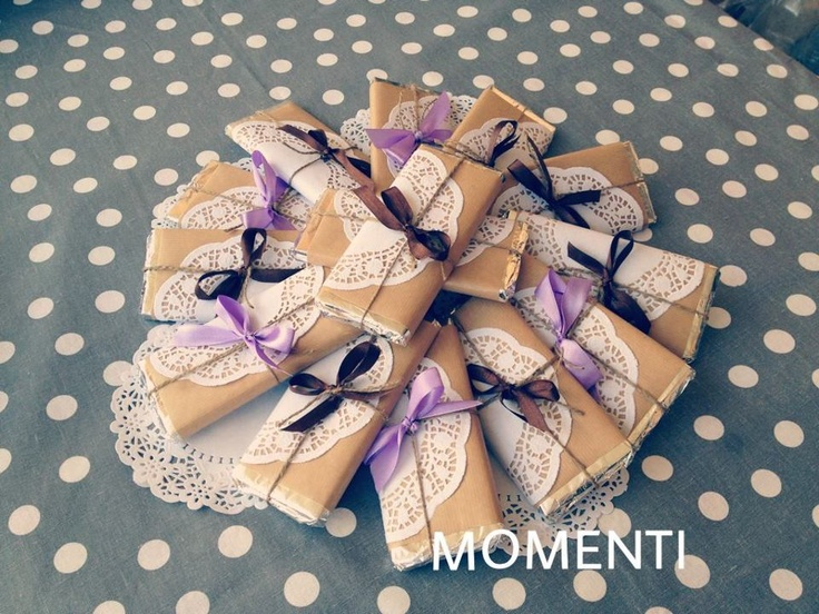 Chocolate bars homemade By MOMENTI