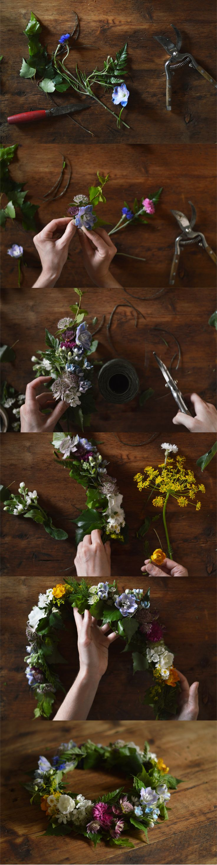 Celebrate the summer solstice in style with a DIY floral crown. Learn the steps on Vogue.com.