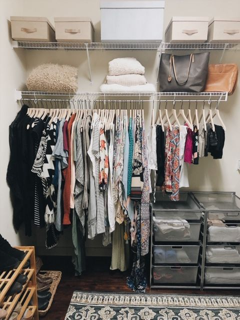 How To Create The Perfectly Organized Closet Apartment