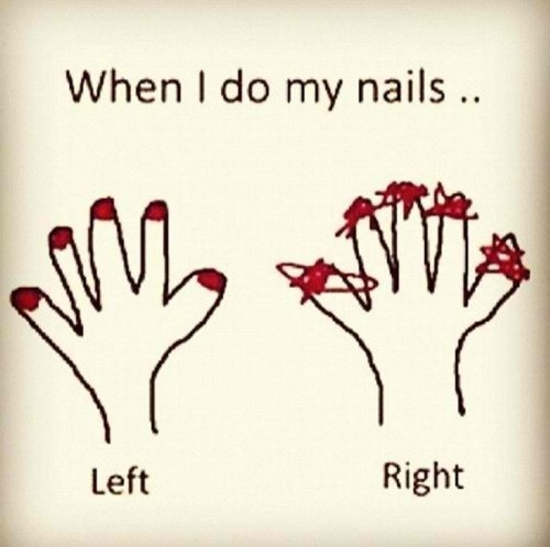 Painting Nails... ughhhhggggghguuugughgghuuhhh