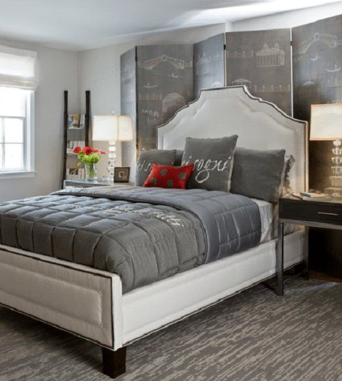 10 Calm And Elegant Gray And Beige Bedroom Decorations Ideas Part 65