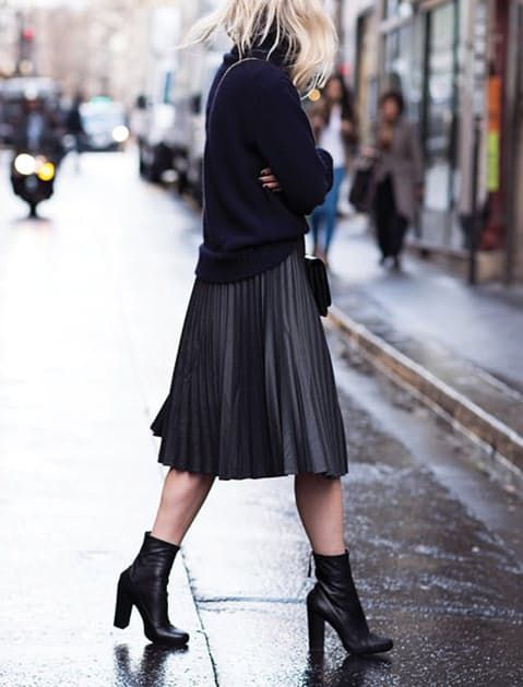 How+to+Wear+Ankle+Boots+with+Short+Legs+via+@PureWow
