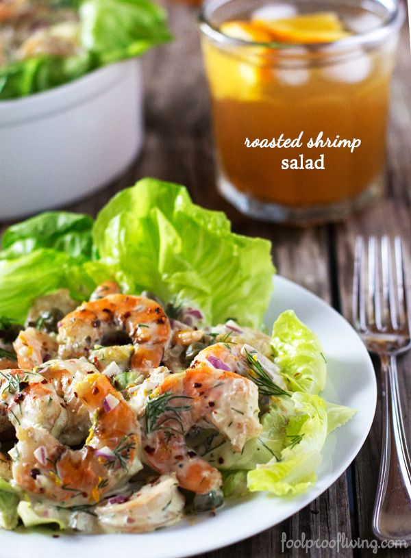 Check Out Roasted Shrimp Salad It 39 S So Easy To Make