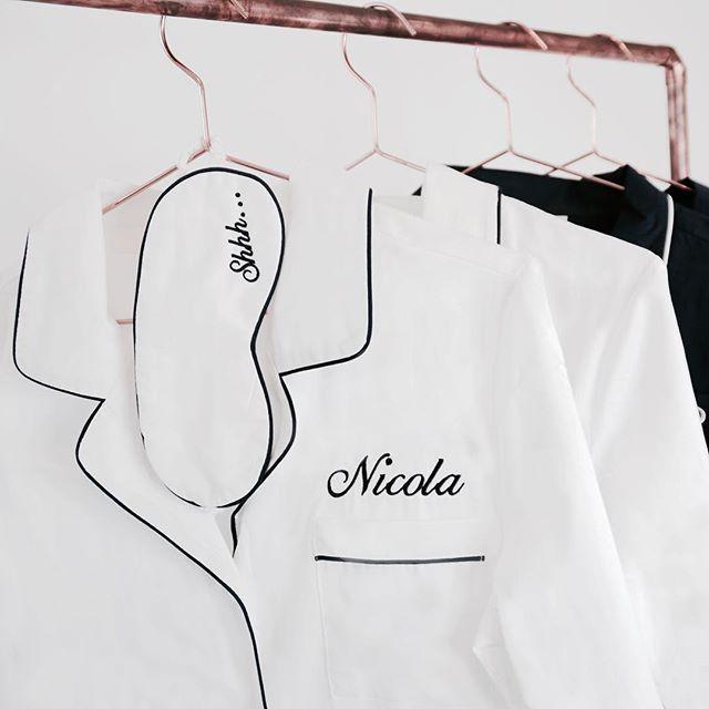 Shhh....  #sleepwearperfection #sleepwear #monogrammed