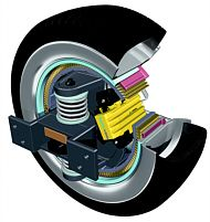 Drive system of the future. The eCorner Module puts an electric motor inside every wheel