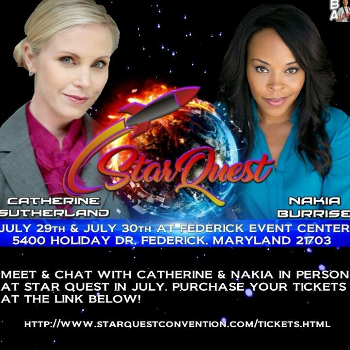 Something has erupted in the stars! In 2 Months @catherine_sutherland  and @nakiaburrise will be at Federick Event Center.  You can Purchase your tickets at  http://www.starquestconvention.com/tickets.html  Follow @catherine_sutherland Follow @nakiaburrise  #abeatmaticfilm #beatmaticartwork #beatmaticsupports #trentonnjpromoter #powerrangers #mightymorphinpowerrangers #mightymorphin #mightymorphing #mmpr #powerrangerszeo #powerrangersturbo #itsmorphingtime #pinkranger #yellowranger…