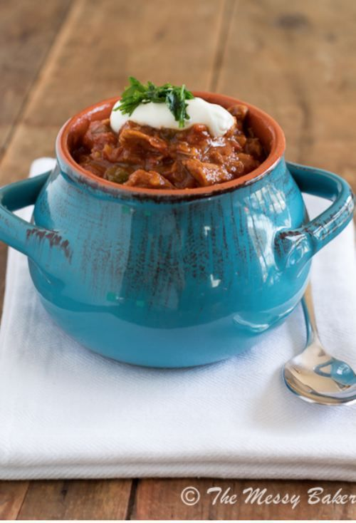 Smoky Pulled Pork Chili [RECIPE]  Fall Recipes : theBERRY