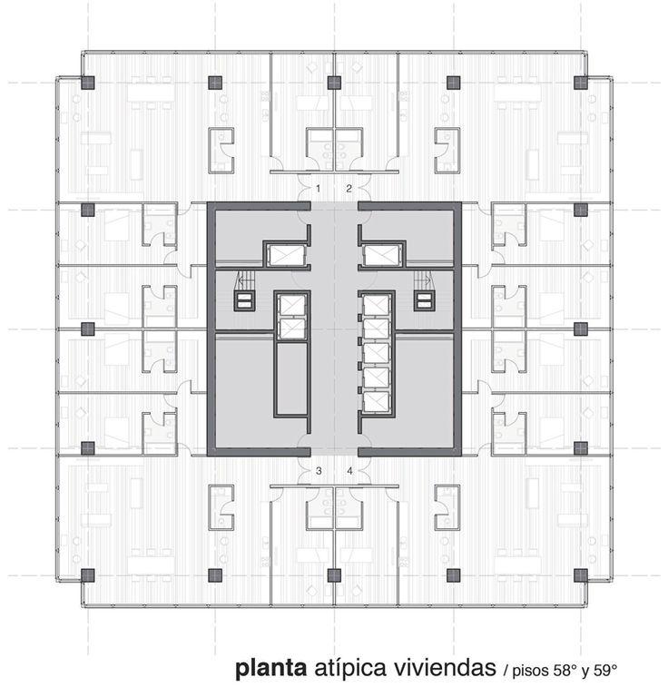 Best Habitatge Collectiu Images On Pinterest Floor Plans - A step up in amazing architecture la