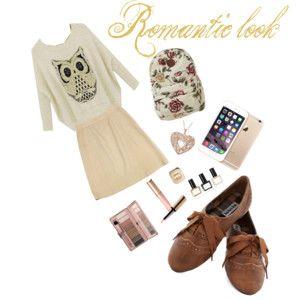 Romantic school-look