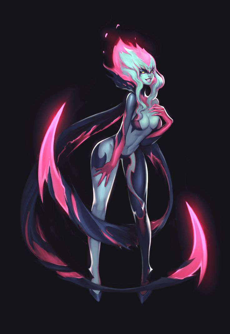 Evelynn Development art Copyright - Riot Games