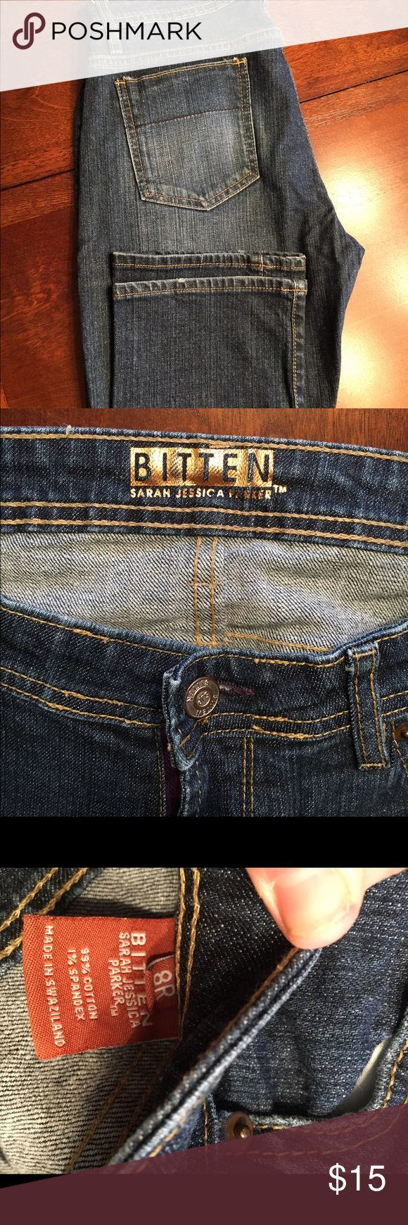 """Bitten"" by SJP jeans Brand new without tags. sarah jessica parker Jeans Straight Leg"