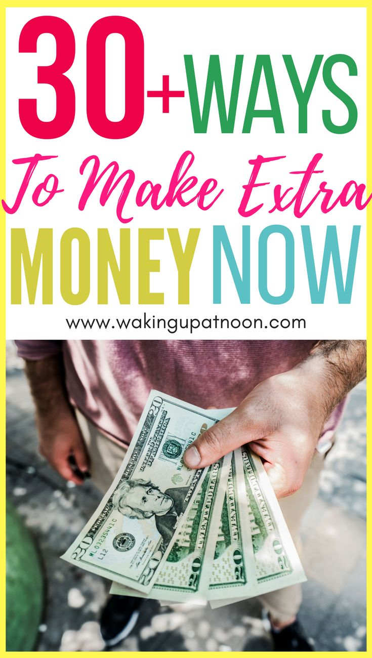 30 ways to make more money. Tips on how to make extra money and increase your income from home. These tips on how to make money will help you with finance and career advice. #money #finance #debt #saving #spending #cash