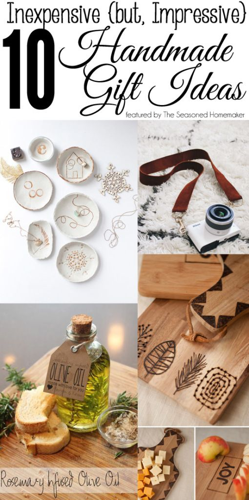 Inexpensive, but Impressive Handmade Gifts