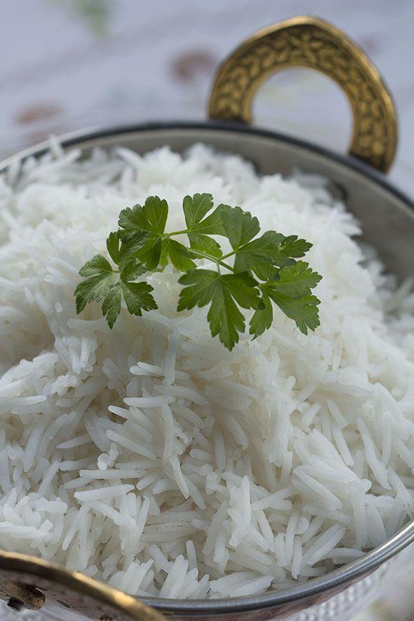 Cocinando en el cestillo. Cómo preparar arroz basmati en Thermomix