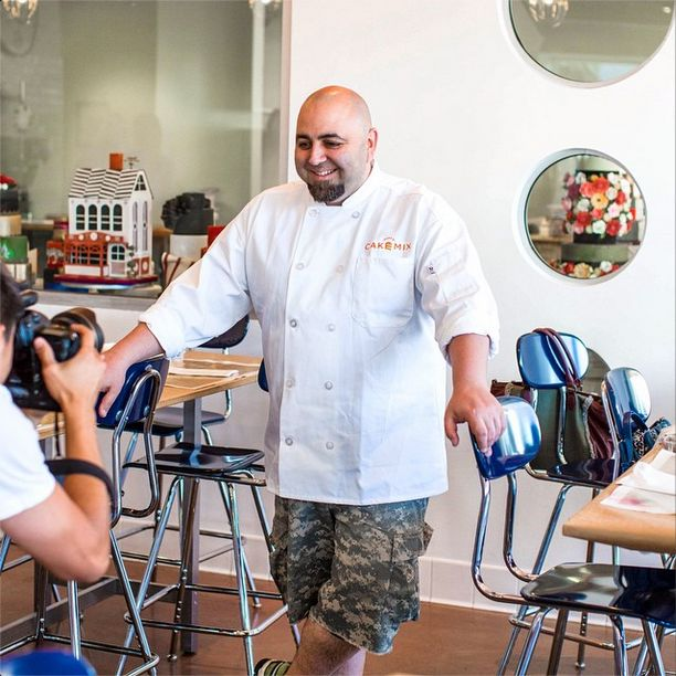 "We asked Duff Goldman, did you always want to be a baker? Duff said, ""No wanted to be a #chef. But after baking for a while, I realized I not only had a talent for it, but a passion for it that most other cooks didn't. It kind of called to me."" #DuffDay"