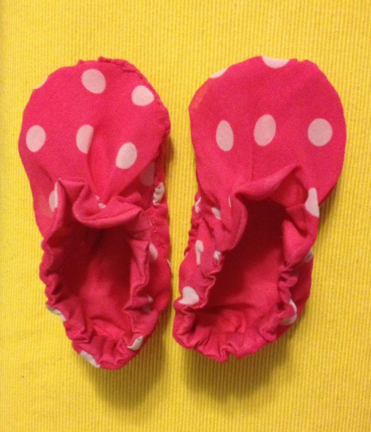 Handmade diy baby girl shoes