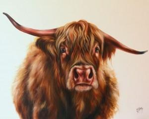 Lulu - Highland Cow, Georgina McMaster