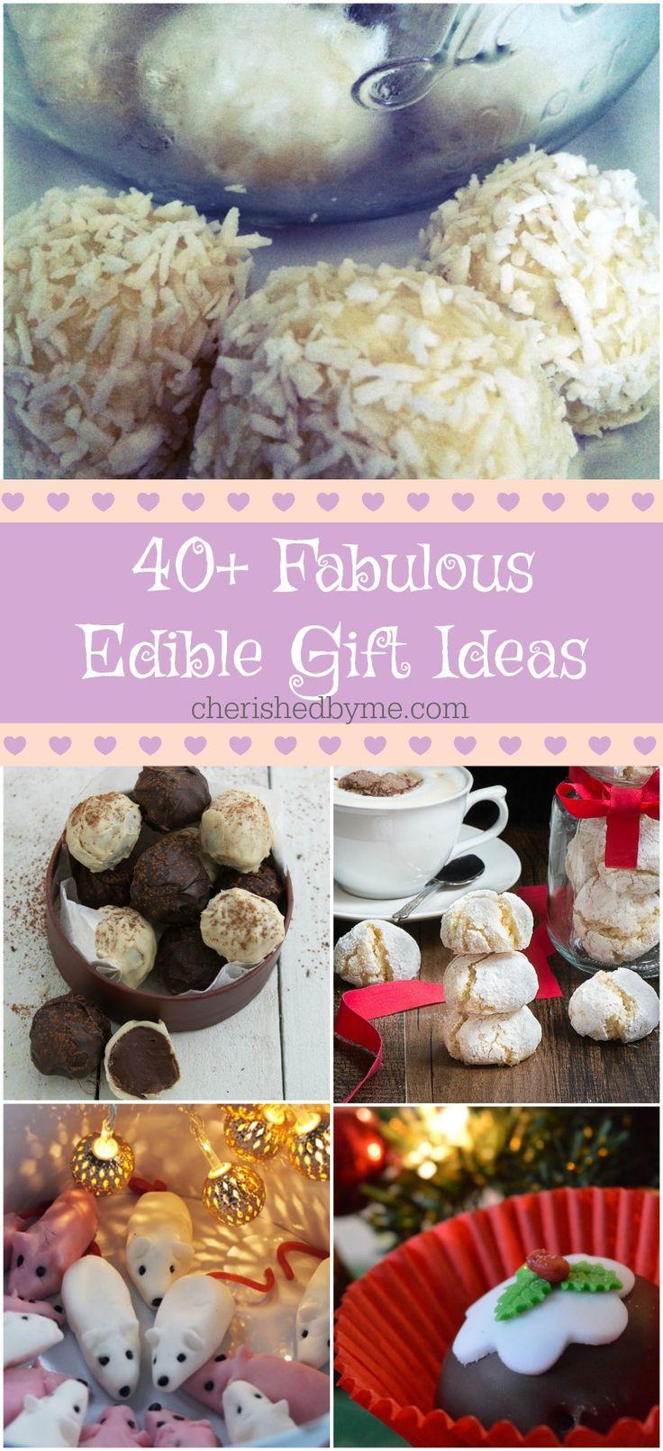 edible gifts - perfect for Christmas