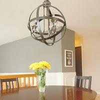 15 best cool lighting ideas images on pinterest chandeliers diy globe chandelier aloadofball Images