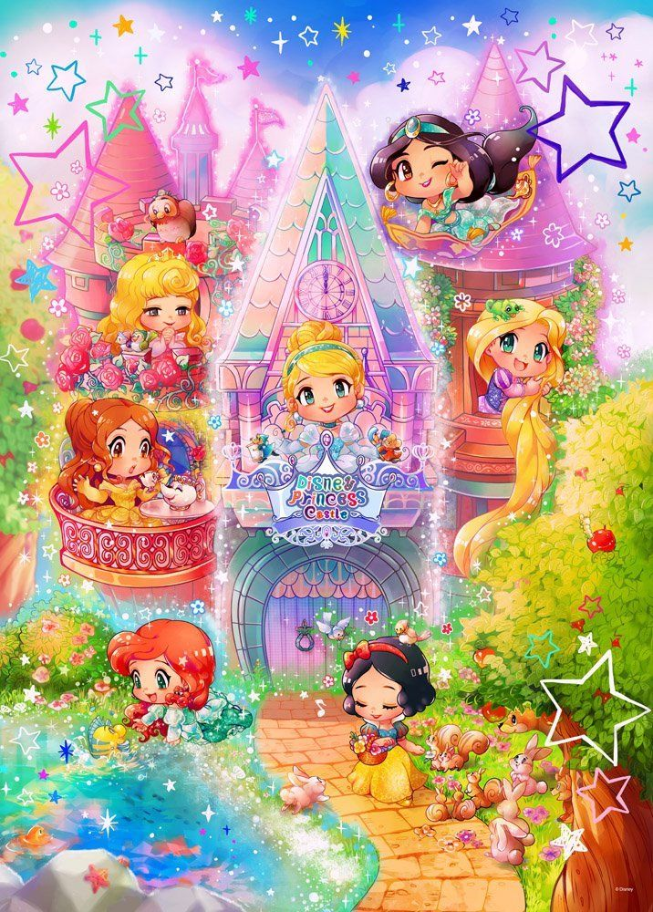 Disney Japan: Disney Princess Puzzle:) | All Things DISNEY ...