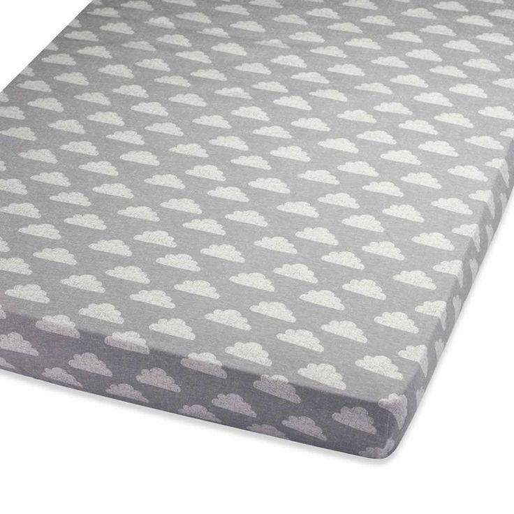 Snuzpod Cot Bed Sheet Cloud Nine
