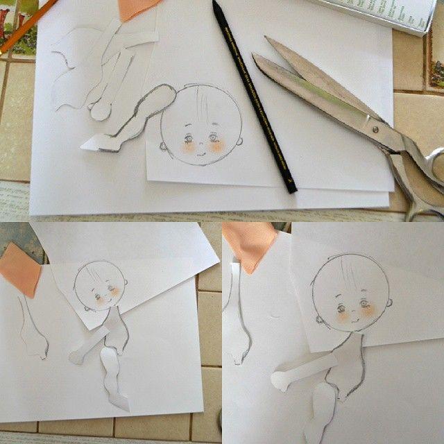 Даже не буду показывать сколько бумаги я изрезала и из рисовала прежде чем стала довольна. Теперь попробую все это на ткани... а потом снова буду рисовать на бумаге, исправлять несовершенства... и опять на ткани.... и опять все сначала.... #мастеркрафт #кукларучнойработы #авторскаяеукла #ярисую #artdoll #art #onelovehandmade #mysolutionforlife @nrl_rukodelie @solutionsforlife #хочу_в_ленту_yh #хочувhmd