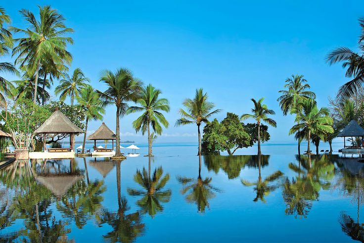 The best beach resorts in Bali are found along the southern coastline of the island, some with private beaches but all of them only steps away from soft golden sand. The best Bali beach resorts feature a multitude of water sport activities, and within the tropical gardens of the