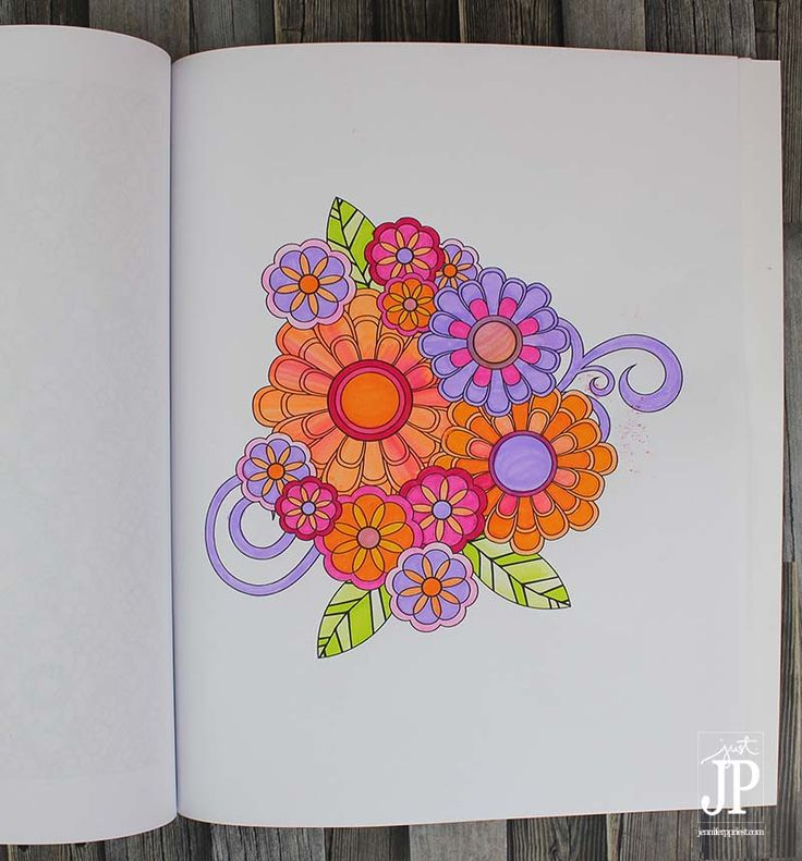 Coloring Book Page By Jennifer Priest