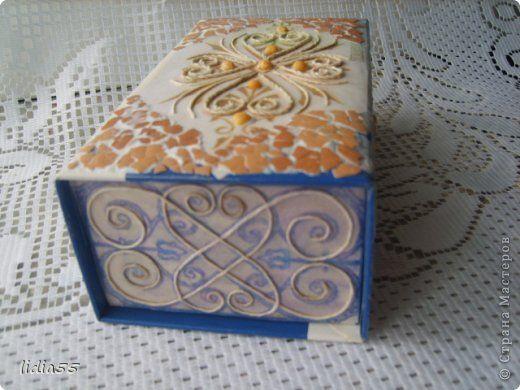 Добрый день Страна Мастеров и Мастериц!!!представляю на ваш суд очередную коробочку,выполненную в технике пейп арт Тани Сорокиной http://stranamasterov.ru/node/308701  фото 10