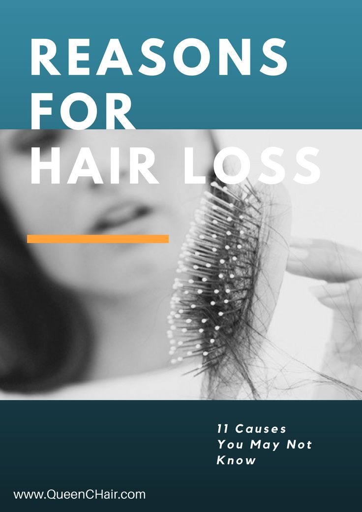 What causes hair loss?  Read this article and learn 11 things that Cause Hair Loss you may not know about.   https://queenchair.me/2017/03/27/reasons-for-hair-loss/