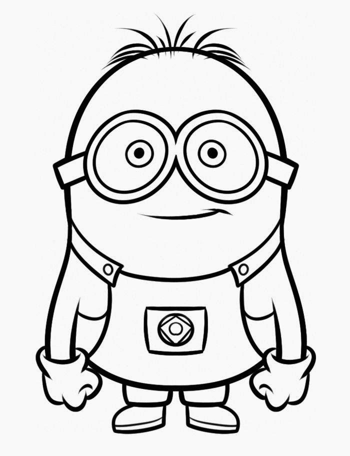 Dibujos para colorear. Maestra de Infantil y Primaria.: Los Minions. Dibujos para colorear y dibujos a color.
