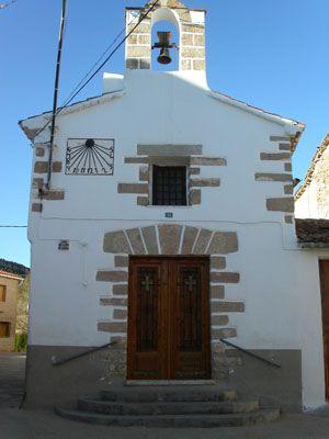 Ermita en la Aldea de La Campo de Arriba en Alpuente, Valencia, Spain